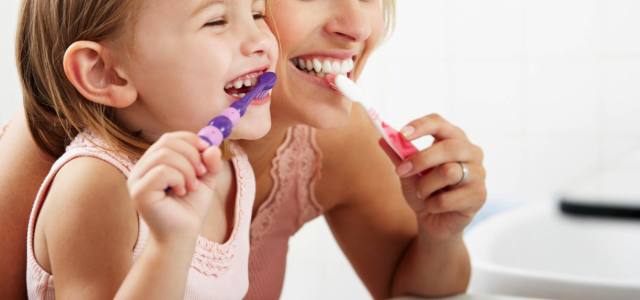 exciting activities for kids brushing